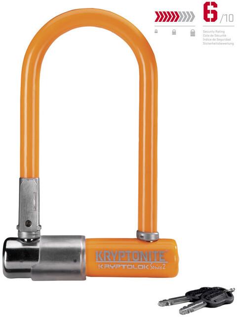 Kryptonite KryptoLok 2 Mini-7 Fietsslot oranje